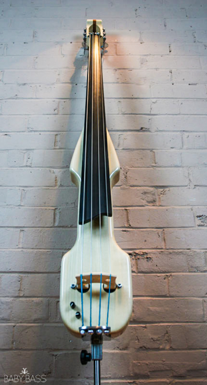 KK Baby Bass – Electric Upright Bass KB2 – Front Shoot