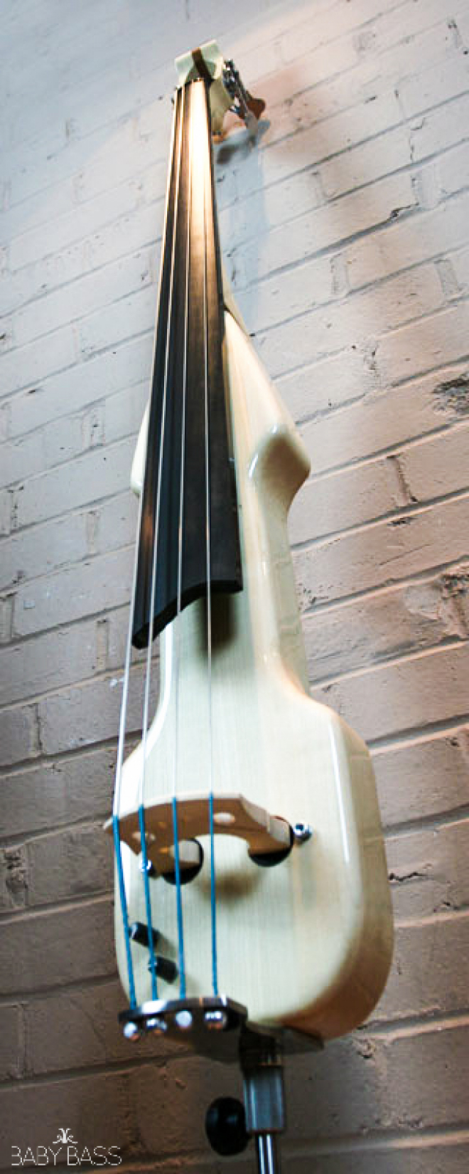 KK Baby Bass – Electric Upright Bass KB2 – Maple Body Side