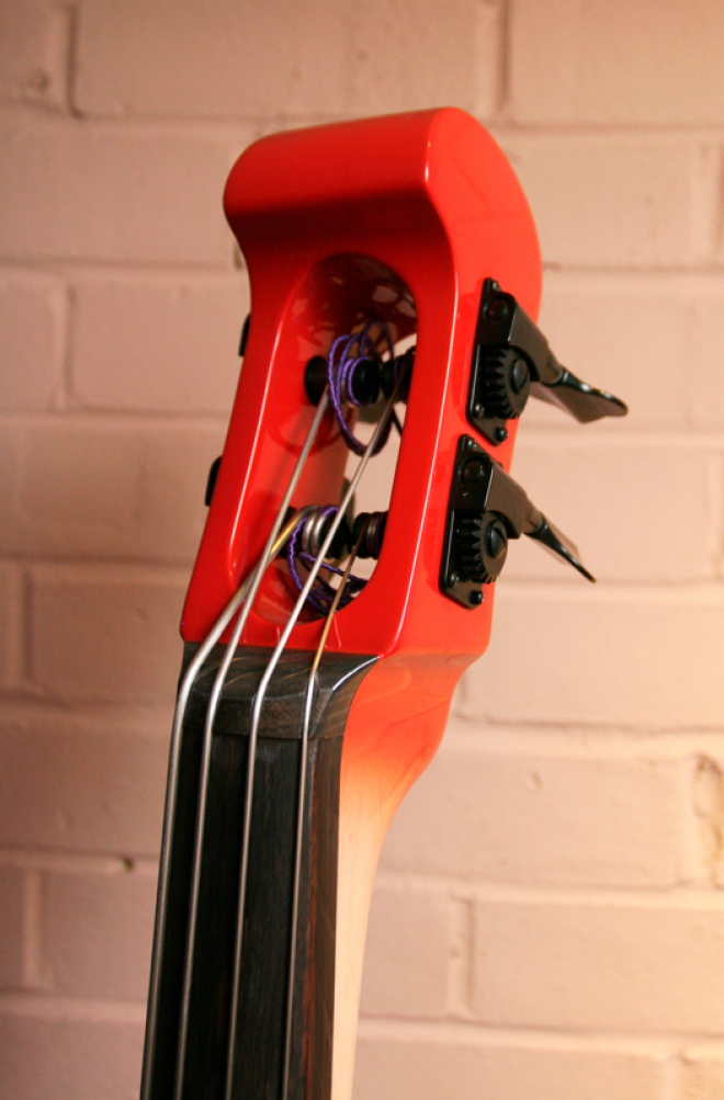 KK Baby Bass Model KB1 nordic red burst electric upright bass