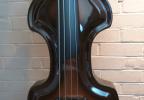 KK Baby Bass model KB Vintage brown burst body – electric upright bass