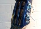 KK Baby Bass model KB Vintage midnight blue head – electric upright bass
