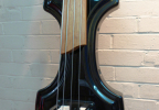 KK Baby Bass model KB1 with Granadillo fingerboard body – electric upright bass