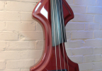 KK Baby Bass model KB1 solid Vino Tinto body – electric upright bass
