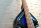 KK Baby Bass model KB Vintage blue burst fingerboard – electric upright bass
