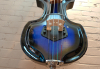 KK Baby Bass model KB Vintage blue burst pick up – electric upright bass