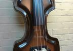 KK Baby Bass model KB Vintage macore brown burst body – electric upright bass