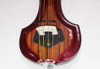 KK Baby Bass model KB1 vino tinto to iroco burst pick up – electric upright bass