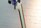 KK Baby Bass model KB Vintage laminated maple neck– electric upright bass