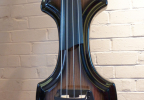 KK Baby Bass model KB1 ebony burst to black body – electric upright bass