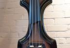 KK Baby Bass model KB1 ebony burst to black body – electric upright bass