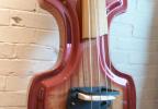 KK Baby Bass model KB Vintage iroco vino tinto burst body – electric upright bass