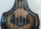 KK Baby Bass model KB1 Spanish Olive burst to black pickup – electric upright bass