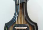 KK Baby Bass model KB1 Spanish Olive burst to black body – electric upright bass
