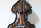 KK Baby Bass Traditional brown burst front 1 – electric upright bass