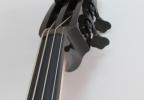 KK Baby Bass Traditional brown burst head – electric upright bass