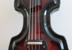 KK Baby Bass Traditional mahogany burst body – electric upright bass