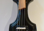 KK Baby Bass model KB1 solid black body– electric upright bass