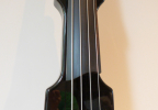 KK Baby Bass model KB2 solid black body – electric upright bass