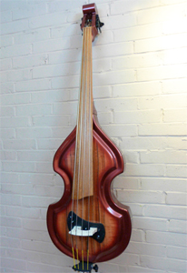 Electric Upright Bass Models - KB Junior  KK Baby Bass Front Shot