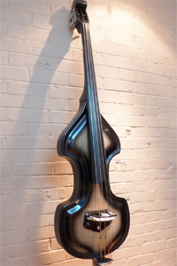 Electric Upright Bass Models - KB Vintage KK Baby Bass Frony Shot