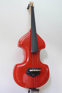 Electric Upright Bass Models - KB Classic  KK Baby Bass Front Shot