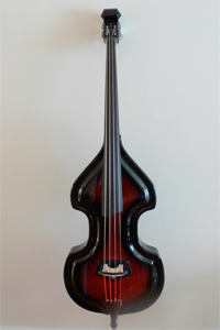 Electric Upright Bass Models - Traditional KK Baby Bass Front